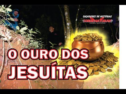 JESUÍTAS ESTIVERAM AQUI - LOCAL ASSOMBRADO PELOS ESPÍRITOS DEVIDO OURO ESCONDIDO.