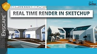 Real Time Rendering in Sketchup! Enscape 3D