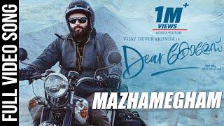 Dear Comrade Video Songs - Malayalam | Mazhamegham Video Song - Vijay Deverakonda | Rashmika