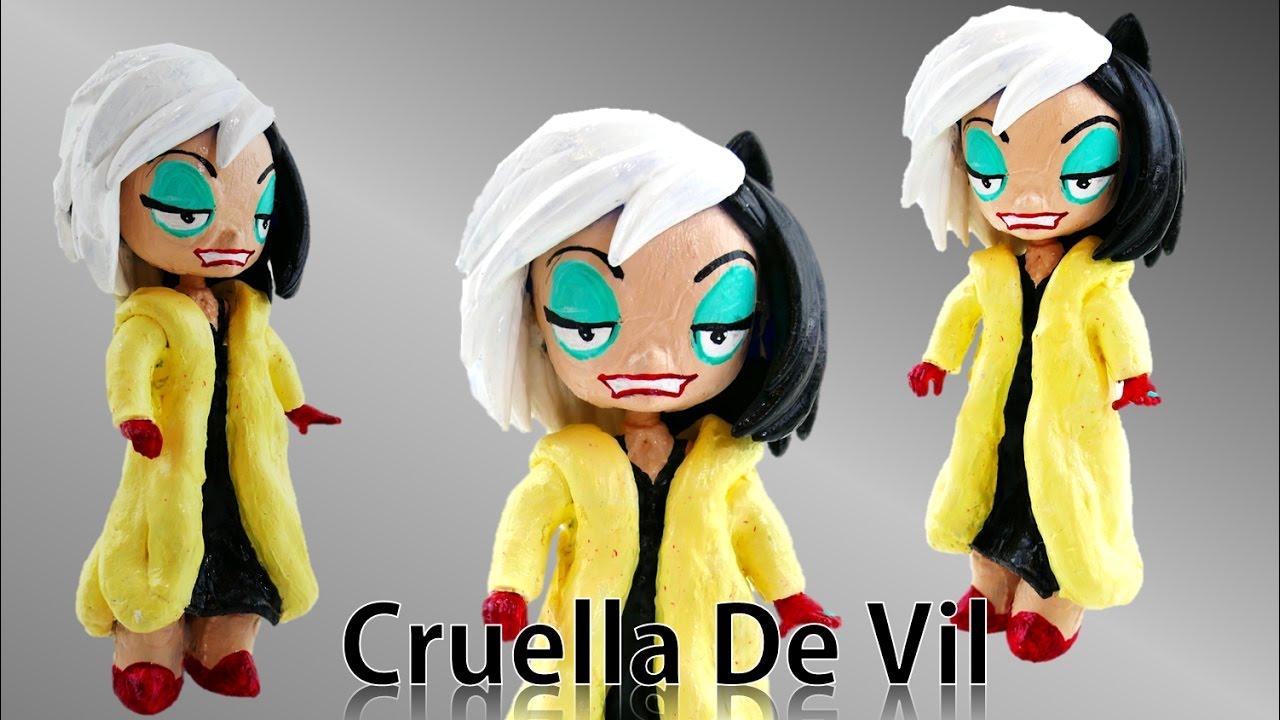 Disney Villain Cruella De Vil Doll My Little Pony Equestria Girls minis Custom Tutorial