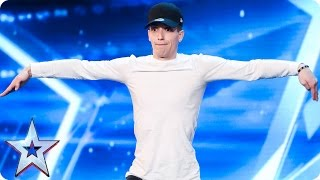 Can Jake Stephens dance his way to success? | Auditions Week 6 | Britain's Got Talent 2017