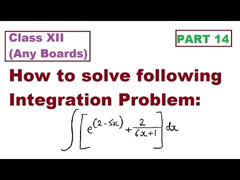 Integration Type I : Simple Application of Integration Formula: Part 14