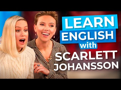 Learn English With Scarlett Johansson & Ellen