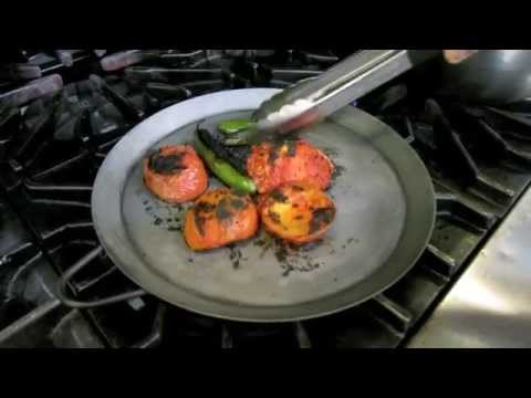 Cooking: How to grill vegetables until charred