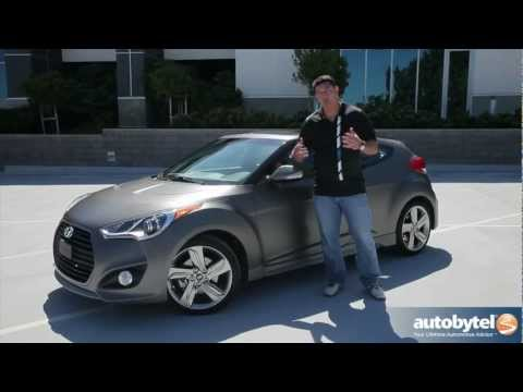 Awesome 2013 Hyundai Veloster Turbo: Video Road Test U0026 Review