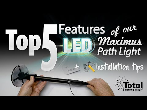 Top 5 features of our LED Maximus Path Light + installation tips