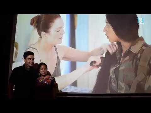 La guatemalteca María Mercedes Coroy lloró al hablar de su experiencia como actriz en Hollywood