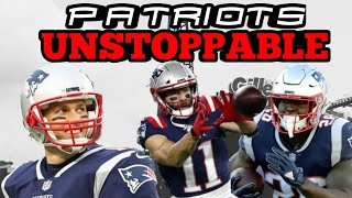 Patriots Offence Will Be Unstoppable