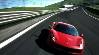 Gran Turismo Tribute To The Ferrari 458  London Elektricity Just One Second Apex Remix