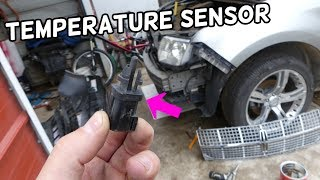 AMBIENT AIR TEMPERATURE SENSOR LOCATION REPLACEMENT LINCOLN MKX  CODE P0073