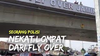 Seorang Polisi di Medan Lompat dari Fly Over Jamin Ginting