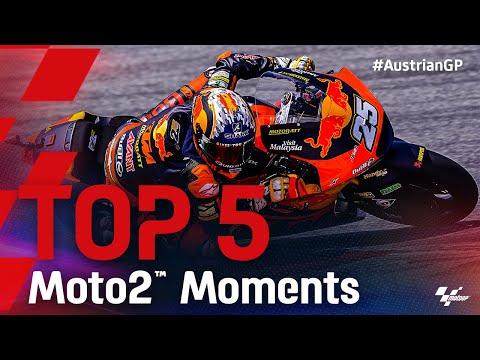 Moto2 2021 第11戦オーストリアGP 決勝レースハイライト動画