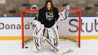 I Sent Sammy To Try Out For The LA KINGS! | Shay Mitchell | Kholo.pk