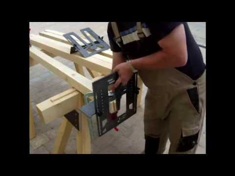 Tomatenhaus selber bauen m. Schwalbenschwanz Zinken Gewächshaus selbst gemacht  DIY #001 Heimwerker