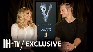Vikings Season 6: Alexander Ludwig & Katheryn Winnick Exclusive Interview | History