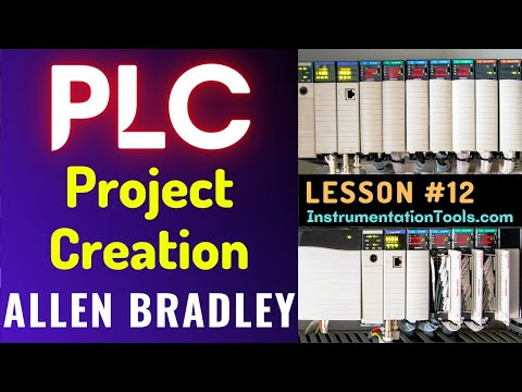 PLC Training 12 - Project Creation in Allen Bradley RSLogix 500 ...