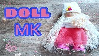Куколка из ткани в юбочке из фатина СВОИМИ РУКАМИ пошагово | THE DOLL IN THE SKIRT OF TULLE