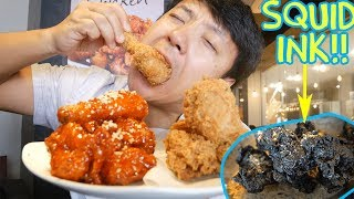 Korean FRIED CHICKEN (KFC) Tour of Seoul South Korea