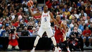 Venezuela @ USA 2016 Olympic Basketball Exhibition FULL GAME HD 720p English