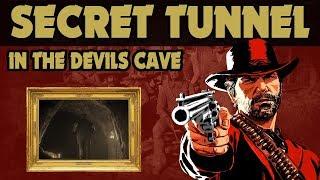 Red Dead Redemption 2 Secret Third Tunnel In The Devils Cave Found ..... Help