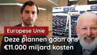 VVD en CDA steunen de groene machtsgreep van de EU