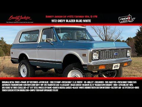 Video of '72 Blazer - PRNV