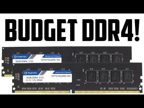 The BEST CHEAP BUDGET DDR4 RAM! (TimeTec DDR4 RAM Review)