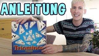 Triominos Spielregeln (Goliath Toys) Anleitung Deutsch | thajo torpedo