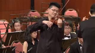 大豐管弦樂團《浪漫琴緣》2018 年度音樂會--孟德爾頌 e小調小提琴協奏曲 第一樂章
