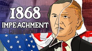 Why was the First President Impeached? | Animated History
