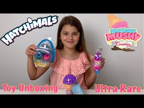 Toy Haul Unboxing Hatchimals, Bananas, NEW Smooshy Mushy Creamery Series 3 Blind Bags | Bella Mix