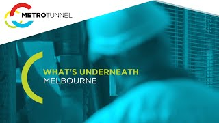 What's underneath Melbourne