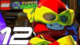 LEGO DC Super Villains - Gameplay Walkthrough Part 12 - Flash Chase Boss Fight (Full Game)