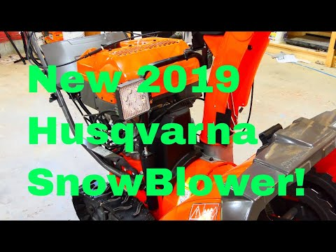 NEW! Husqvarna ST430T Snow Blower! Complete In-Depth Review