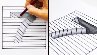 20 EASY AND COOL DRAWING TRICKS