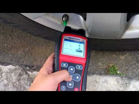 2014 Ford F150 TPMS Programing with Autel TS508 - смотреть