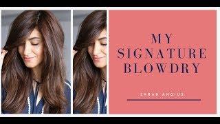 Menghasilkan Tatanan Rambut Blow-Dry a La Salon