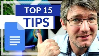 15 Tips and Tricks in Google Docs for Beginners AND Power Users