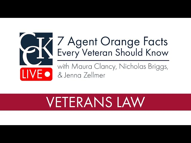 7 Things Every Veteran Should Know About Agent Orange