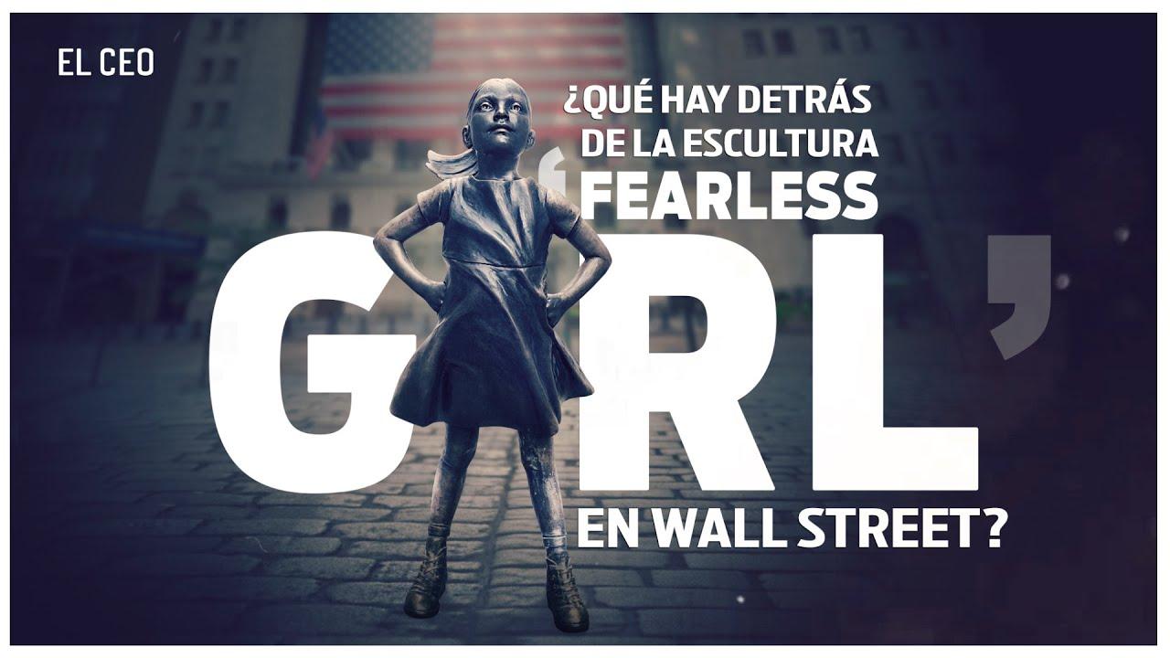 ¿Qué hay detrás de la escultura 'Fearless Girl' en Wall Street?