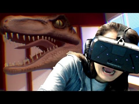 Don't You Let Go! - Playing with the Oculus Rift