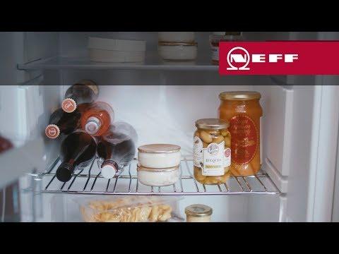 NEFF Kühlschrank: Flexibles Flaschengitter