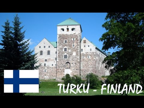 Summer in Turku in Finland tourism video