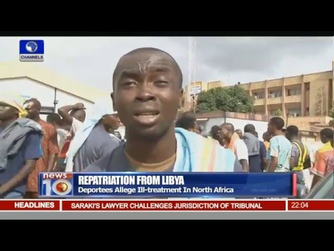 172 Nigerians Deported From Libya Allege Ill Treatment