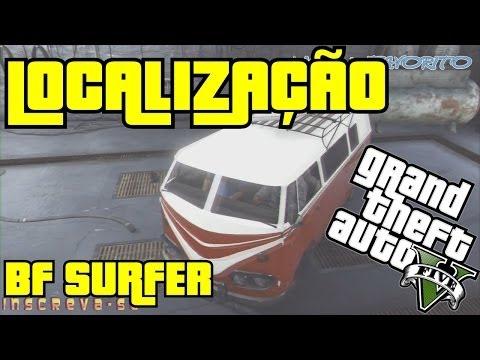 GTA 5 Online - Carro Raro & Secreto 4 - BF Surfer / Kombi   2 Localizações 100% comf após patch 1.09