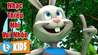 Thỏ Con Tinh Nghịch - Nhạc Thiếu Nhi Hoạt Hình Sôi Động Hay Nhất
