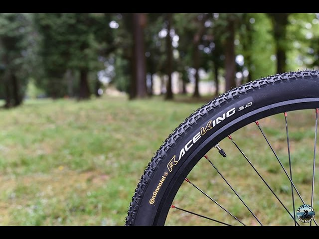 Видео Покрышка Continental Race King RaceSport 27.5 x 2.20 черно-коричневая