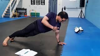 4 Week Bodyweight Plan (PDF) Exercise List