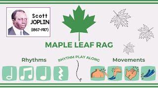 Rhythm and Body percussion Play Along│Maple Leaf Rag Scott Joplin
