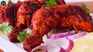 তান্দুরি চিকেন   Tandoori Chicken in Oven   Restaurant Style Tandoori Chicken - Video Youtube